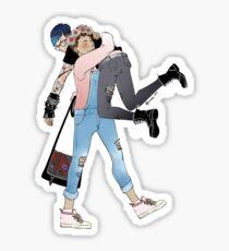 Pastel!Dan x Punk!Phil Sticker