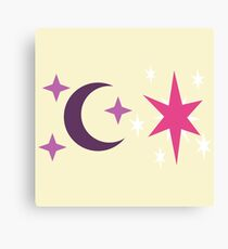My little Pony - Moondancer + Twilight Cutie Mark Canvas Print