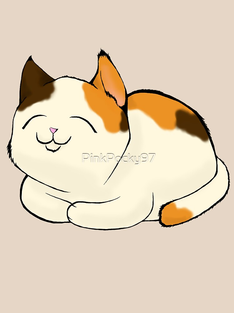 Calico Cat by PinkPocky97