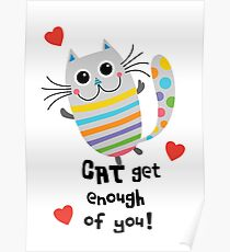 CAT Get Enough of You  Poster