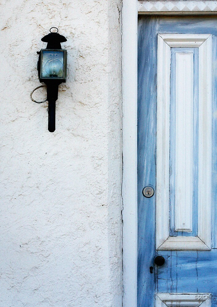 the blue door by spice