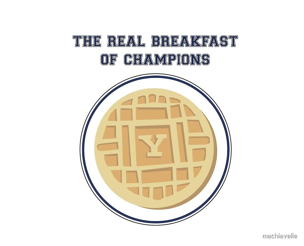 Yale Breakfast of Champions - Original by machiavelie