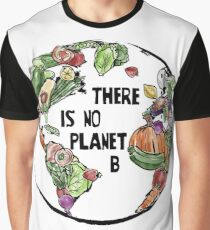 There is no Planet B - Go Vegan Graphic T-Shirt