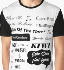 HARRY STYLES SONGS Graphic T-Shirt
