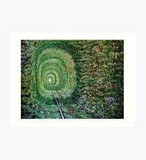 """Railway Forest"" Art Print"