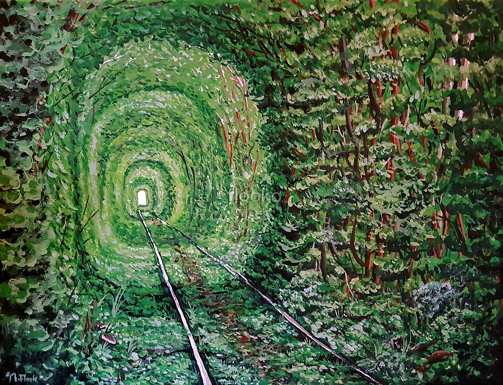 """""""Railway Forest"""" by flooko"""