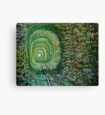 """Railway Forest"" Canvas Print"