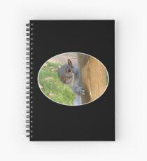 Peek-a-Boo! (Self Portrait in the Eye) Spiral Notebook