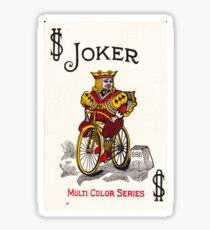 Joker Playing Card- Bicycle Sticker