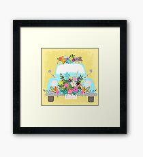 Flower Powered Framed Print