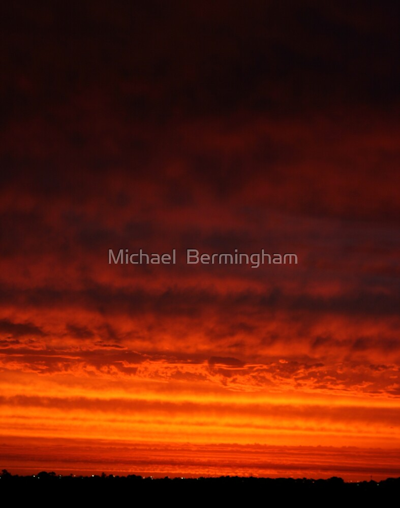 Fire from the Sky by Michael  Bermingham