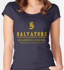 Salvatore Tailliertes Rundhals-Shirt