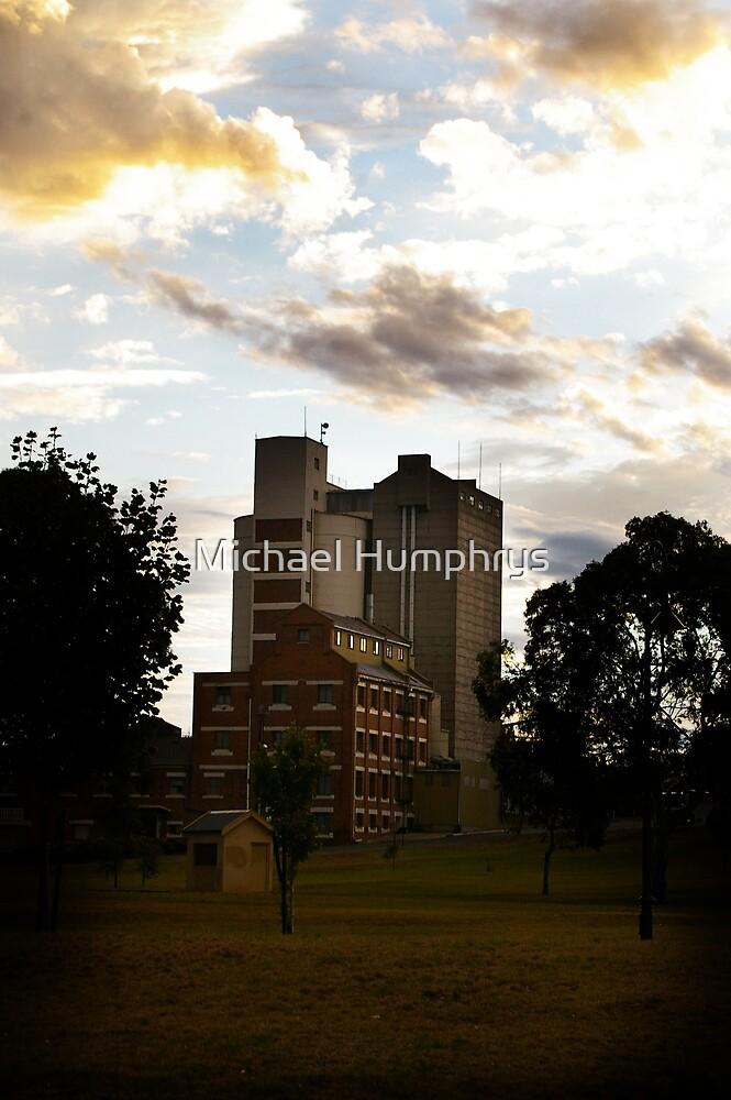 Murray Bridge Mills by Michael Humphrys