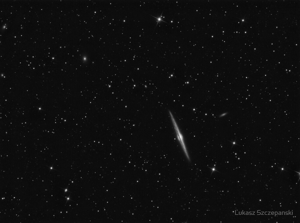 Needle Galaxy (NGC 4565) in Coma Berenices by Lukasz Szczepanski
