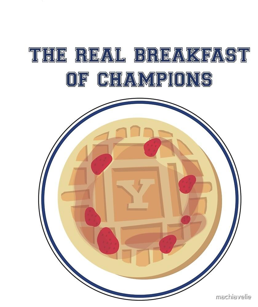 Yale Breakfast of Champions - Berries by machiavelie