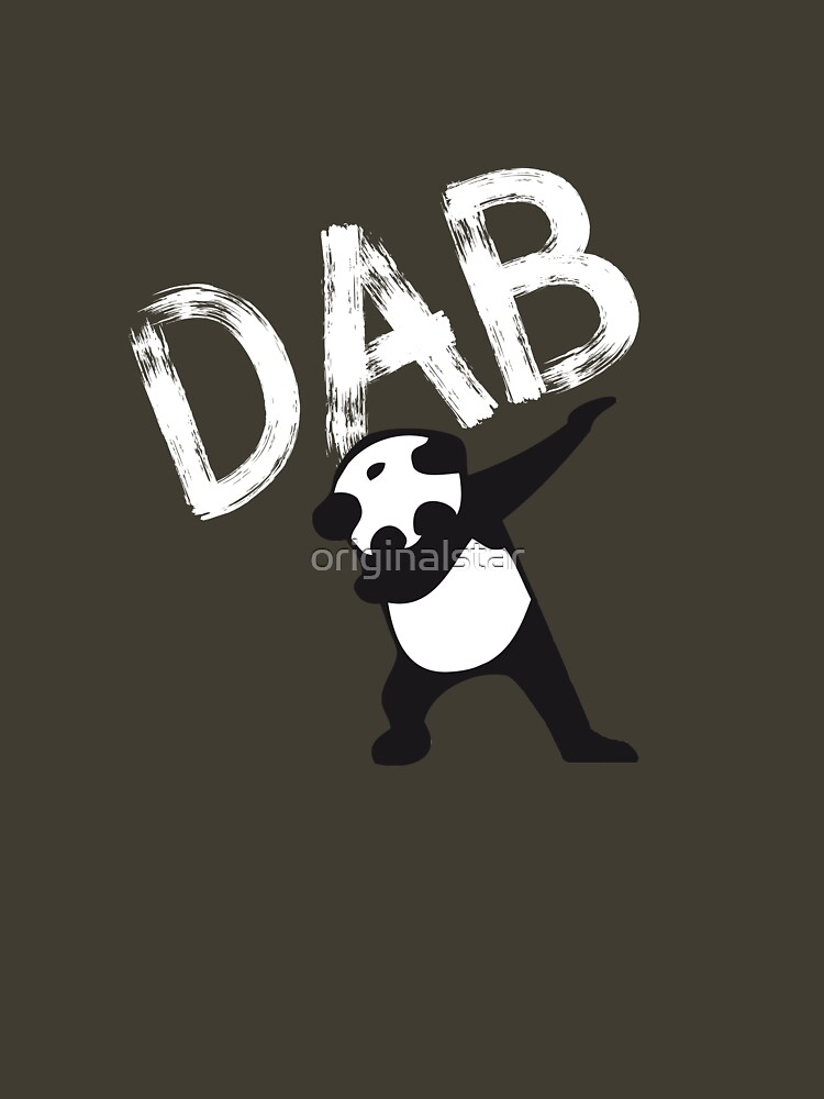DAB PANDA dab dabber dance football touch down red by originalstar