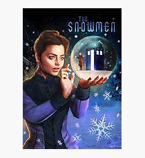 The Snowmen Photographic Print