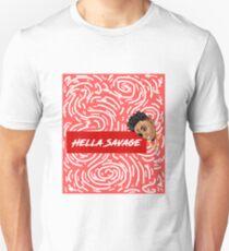 HELLA SAVAGE! Spiral Concept Unisex T-Shirt