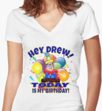 TV Game Show - TPIR (The Price Is...)It's My Birthday Women's Fitted V-Neck T-Shirt