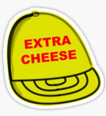 Extra Cheese Trucker Hat (from 30 Rock) Sticker