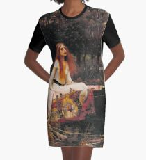 The Lady of Shallot - John William Waterhouse  Graphic T-Shirt Dress