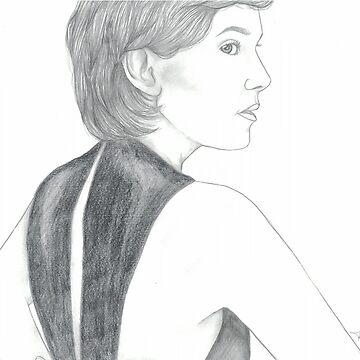 Millie Bobby Brown by Artsyamateurr