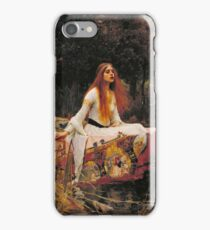 The Lady of Shallot - John William Waterhouse  iPhone Case/Skin