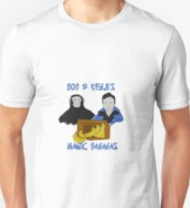 Magic Bananas [Blue Font] Unisex T-Shirt