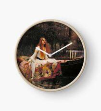 Reloj La dama de Shallot - John William Waterhouse