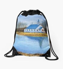 The Heart Of It All - Landscape Art Drawstring Bag