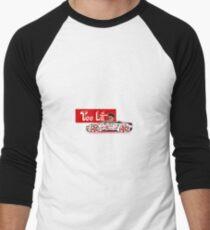 Too Lit Men's Baseball ¾ T-Shirt