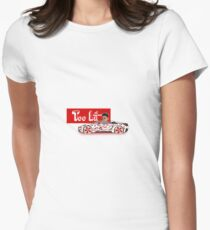 Too Lit Women's Fitted T-Shirt