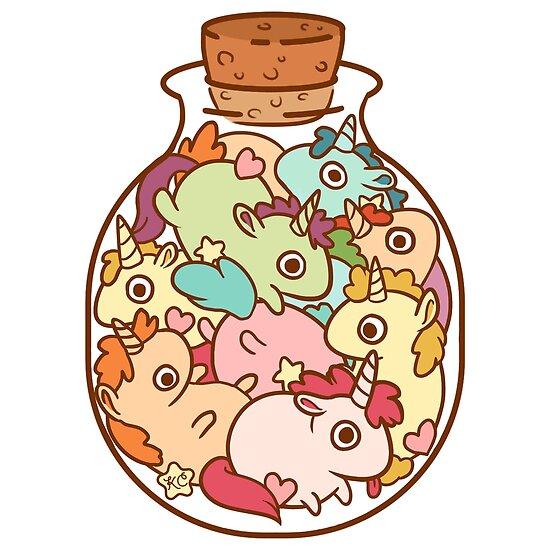 Bottle of Unicorns by katiecrumpton