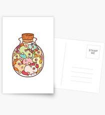 Bottle of Unicorns Postcards