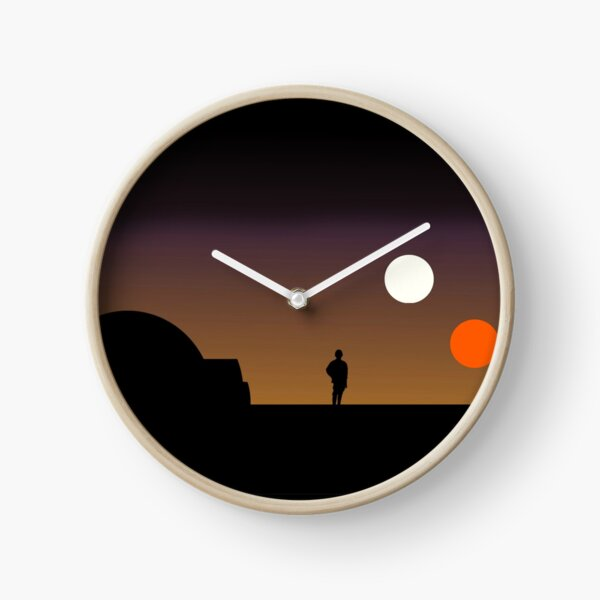 The Double Sunset... Clock