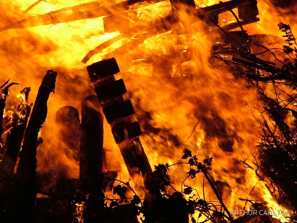 BURNING EMBERS by ARTHUR CARLTON