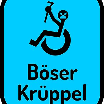 Böser Krüppel - Hellblau by lhabc