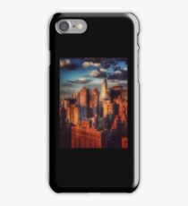 Empire State Building in Golden Sun - New York City, USA iPhone Case/Skin
