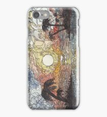 Sunset in color iPhone Case/Skin