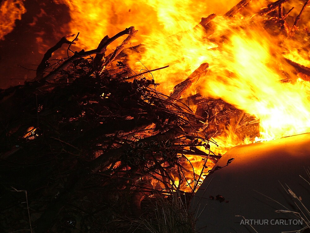 burning rage by ARTHUR CARLTON