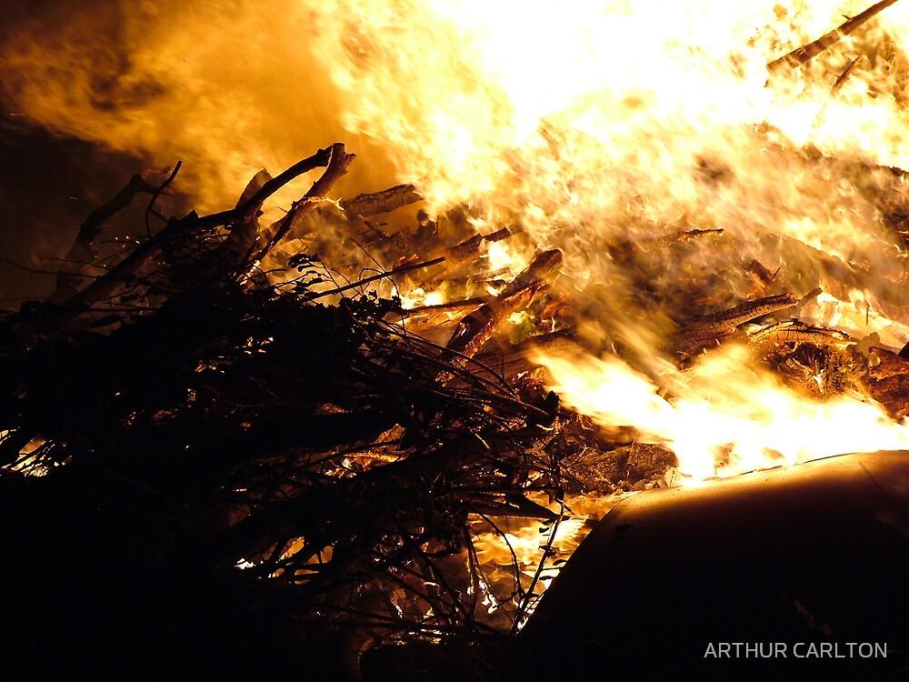 WHITE FIRE by ARTHUR CARLTON