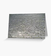 Cobblestones Greeting Card