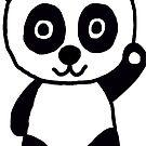 Panda by Teresa Hulbert