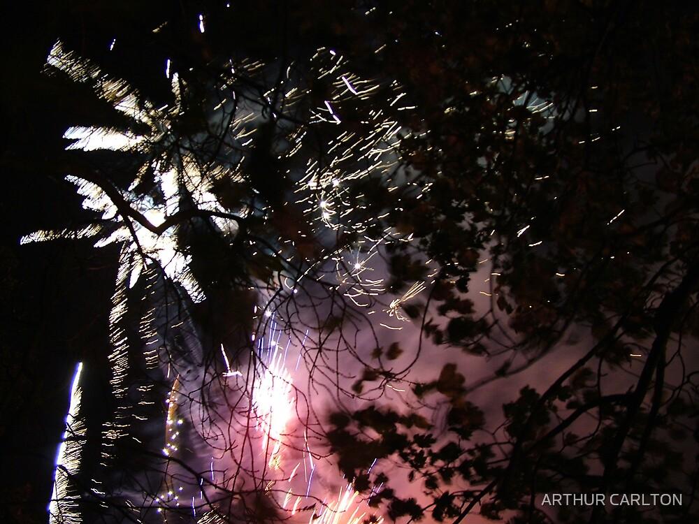 PURPLE EXPLOSION by ARTHUR CARLTON