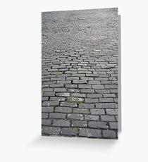 Cobblestones Greeting Card
