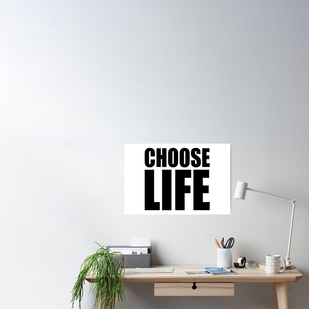 NDVH Choose Life Poster
