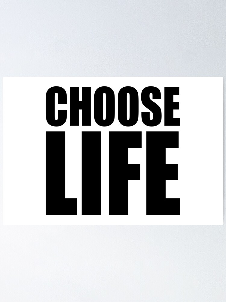 Alternate view of NDVH Choose Life Poster
