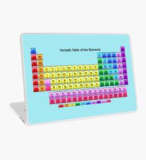 Shiny Periodic Table of the Chemical Elements Laptop Skin