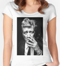 David Lynch Women's Fitted Scoop T-Shirt