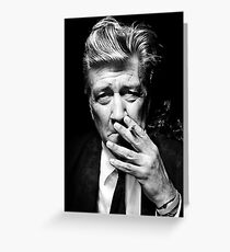 David Lynch Greeting Card